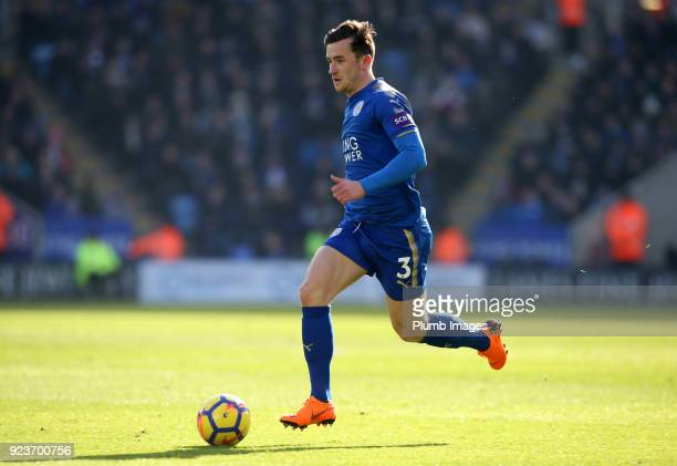 Ben Chilwell of Leicester City in action during the Premier League match between Leicester City and Stoke City at King Power Stadium on February 24...