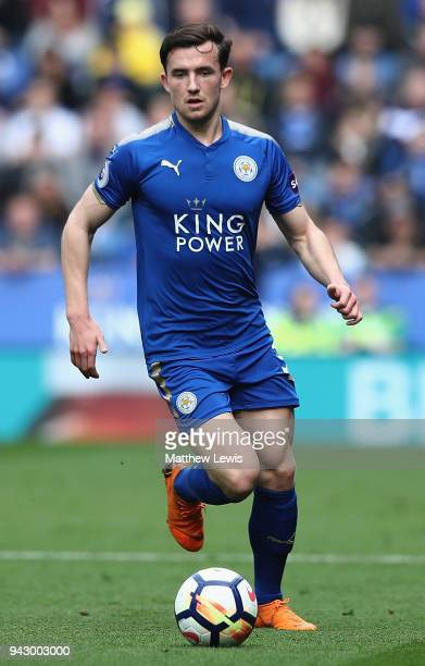 Ben Chilwell of Leicester City in action during the Premier League match between Leicester City and Newcastle United at The King Power Stadium on...