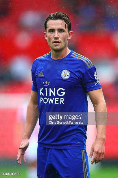 Ben Chilwell of Leicester City in action during the PreSeason Friendly match between Stoke City and Leicester City at Bet365 Stadium on July 27 2019...