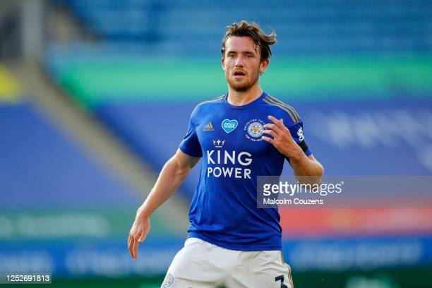 Ben Chilwell of Leicester City looks on during the Premier League match between Leicester City and Brighton & Hove Albion at The King Power Stadium...