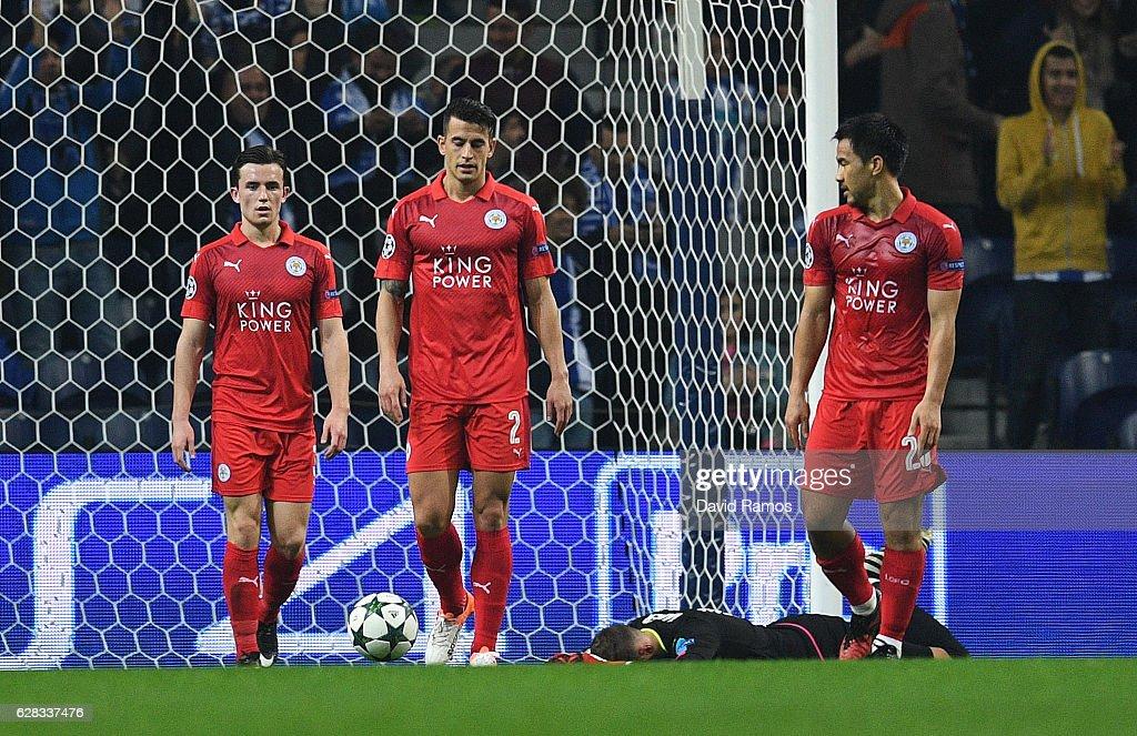 FC Porto v Leicester City FC - UEFA Champions League : News Photo