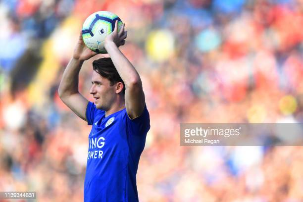 Ben Chilwell of Leicester in action during the Premier League match between Leicester City and AFC Bournemouth at The King Power Stadium on March 30,...