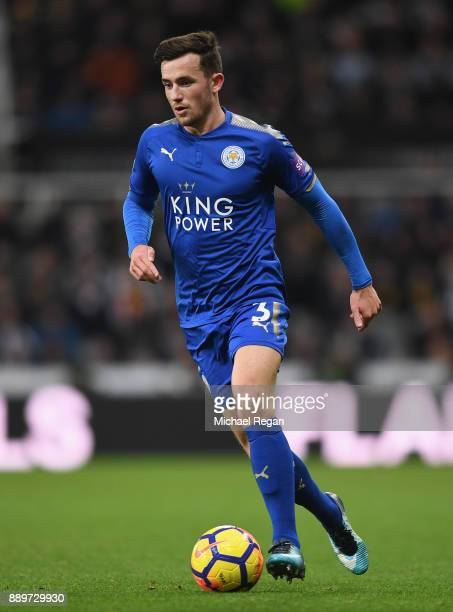 Ben Chilwell of Leicester in action during the Premier League match between Newcastle United and Leicester City at St James Park on December 9 2017...