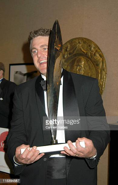 Ben Clark during 2003 Gielgud Award Gala Honors Lynn Redgrave at Natoinal Arts Club in New York New York United States