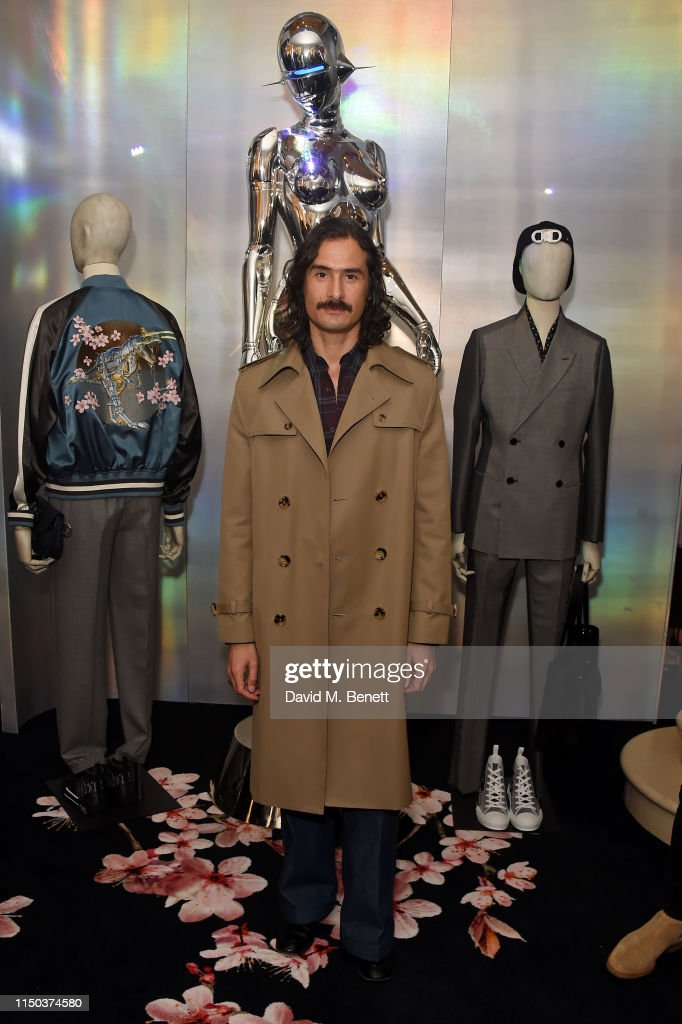 GBR: Dior x Another Man In-Store Cocktail Party with Kim Jones