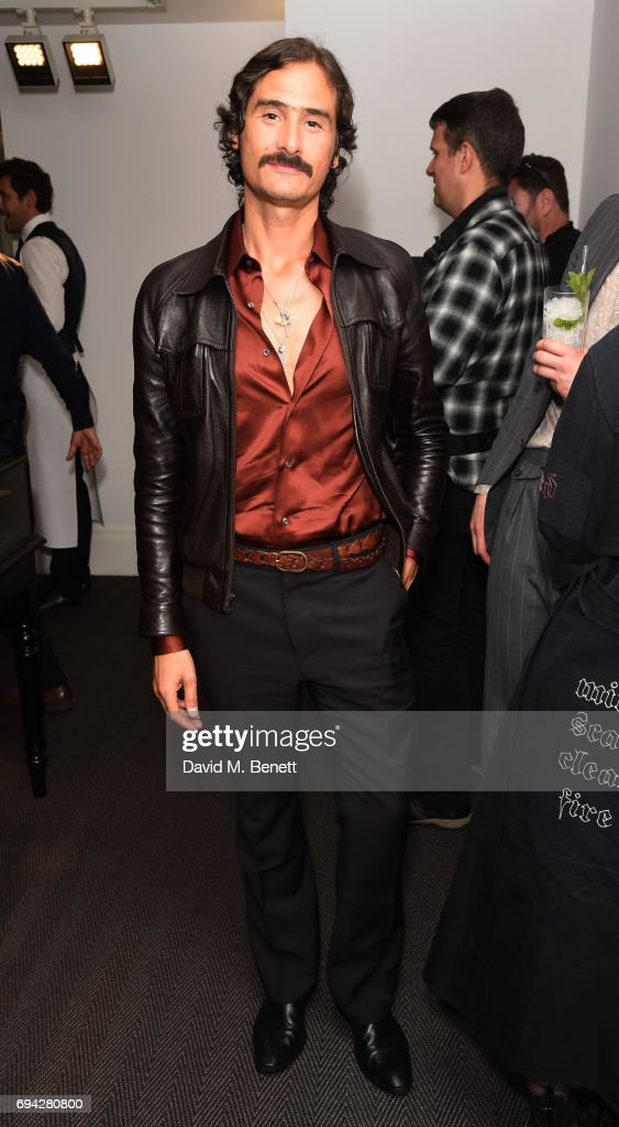 Ben Cobb attends the dunhill London presentation during the London Fashion Week Men's June 2017 collections on June 9, 2017 in London, England.