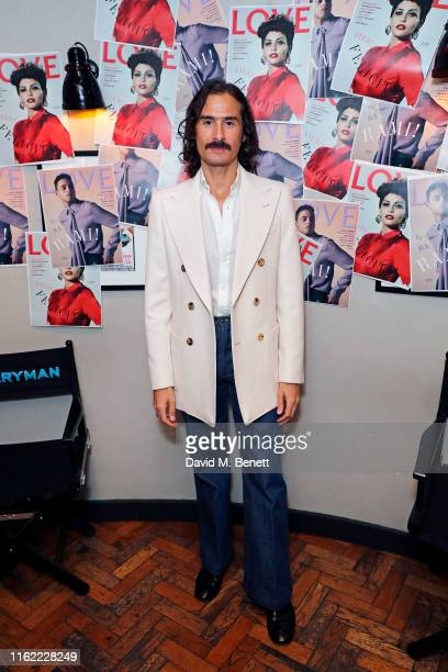 Ben Cobb attends the #MOVINGLOVE screening hosted by Derek Blasberg Katie Grand at Screen on the Green on July 15 2019 in London England
