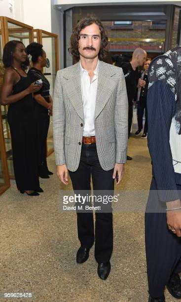 Ben Cobb attends the Photo London open house at Dover Street Market on May 17 2018 in London England