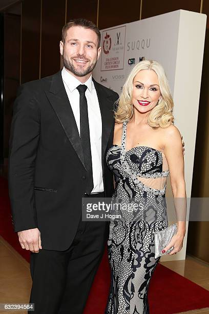 Ben Cohen and Kristina Rihanoff attend the Critics' Circle Film Awards at The Mayfair Hotel on January 22 2017 in London England