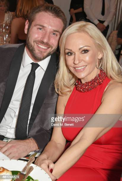 Ben Cohen and Kristina Rihanoff attend the Lady Garden Gala in aid of Silent No More Gynaecological Cancer Fund and Cancer Research UK at Claridge's...