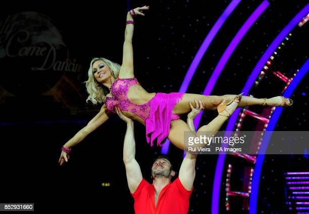 Ben Cohen and Kristina Rihanoff during a press call for the UK Strictly Come Dancing Live Tour 2014 starting in Birmingham on Friday at the National...