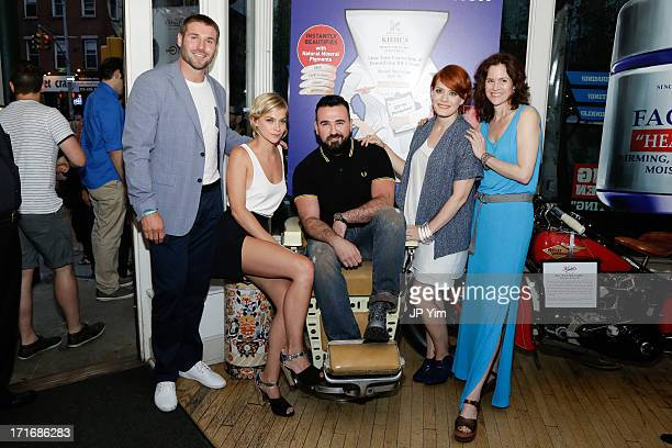 Ben Cohen Leigh Lezark Kiehl's USA President Chris Salgardo Ana Matronic and Ally Sheedy attend the NYC Pride Week 2013 Celebration hosted by Kiehl's...