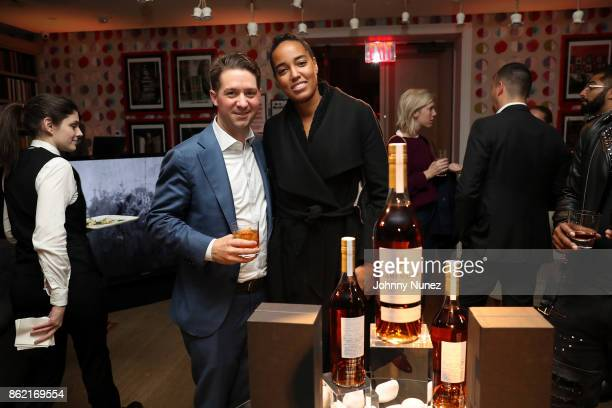 Ben Collier and Naeemah Leonard Attend Remy Martin Presents Carte Blanche Merpins With Cellar Master Baptiste Loiseau And Super Producer Zaytoven at...