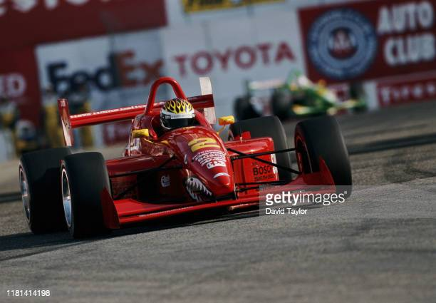 Ben Collins of Great Britain drives the Johansson Motorsports Lola T97/20 Buick V6 during the Championship Auto Racing Teams Dayton Indy Lights...