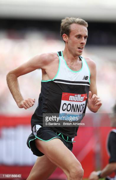 Ben Connor of Great Britain competes in the Men's 5000m during Day One of the Muller Anniversary Games IAAF Diamond League event at the London...