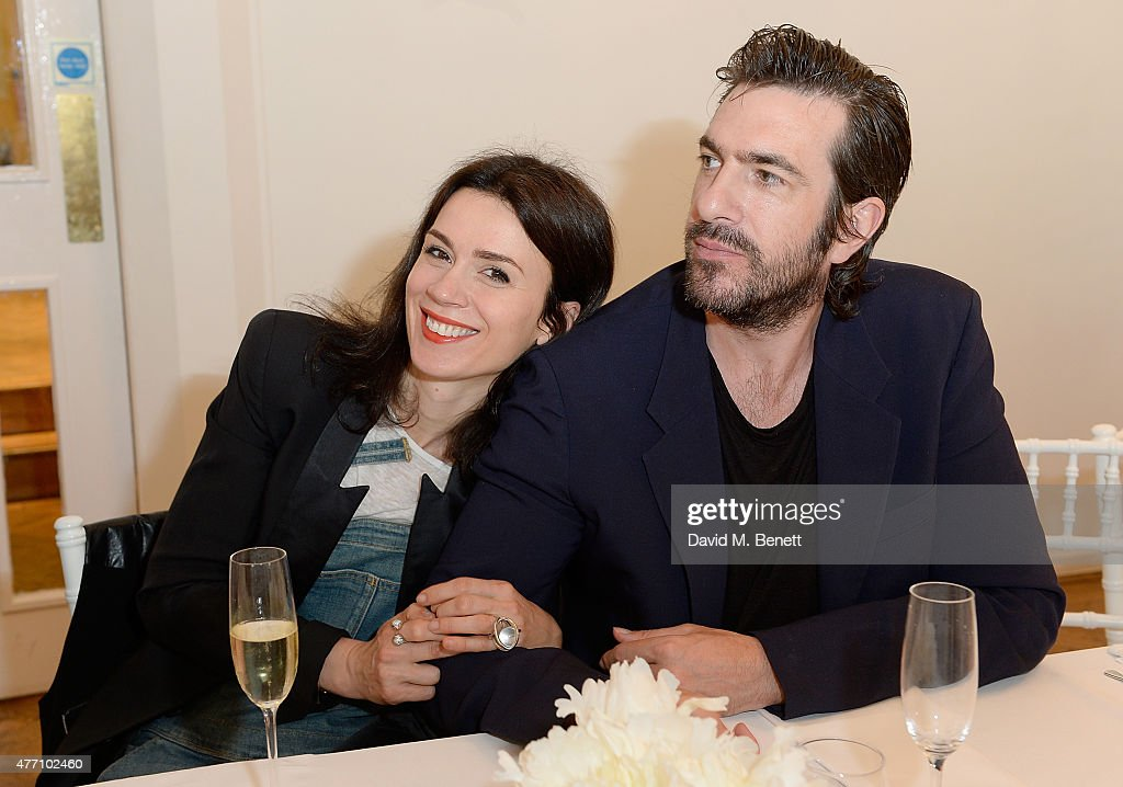 Ben Cooper and Lara Bohinc attend the brunch for REDA in collaboration with The Woolmark Company and Magnum celebrating 150 years, at One Marylebone on June 14, 2015 in London, England.