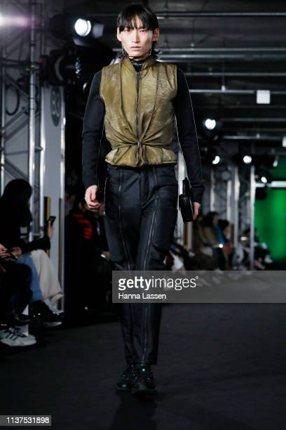 Ben Cottrell and Matthew Dainty on the runway during the Cottweiler show as part of HERA Seoul Fashion Week A/W 2019 on March 22, 2019 in Seoul,...