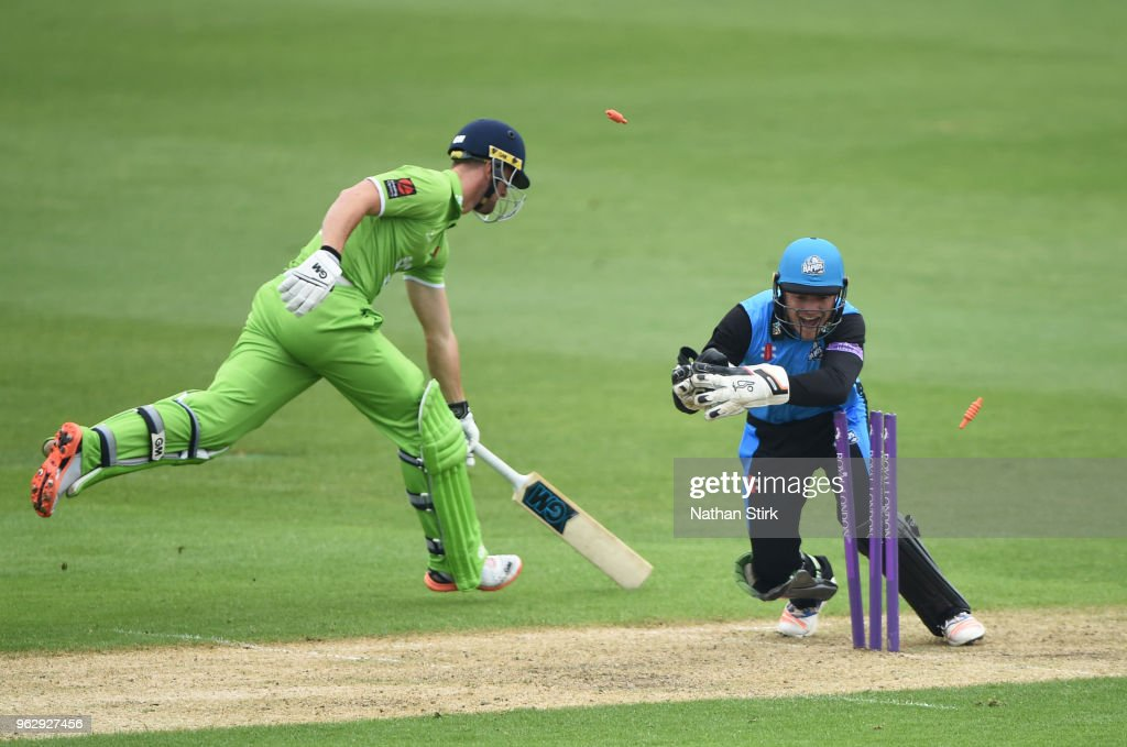 Worcestershire v Lancashire - Royal London One-Day Cup