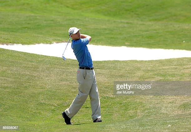 Ben Crane during Round One of The Fedex St. Jude Classic at TPC at Southwind in Memphis, Tennessee on May 26, 2005.