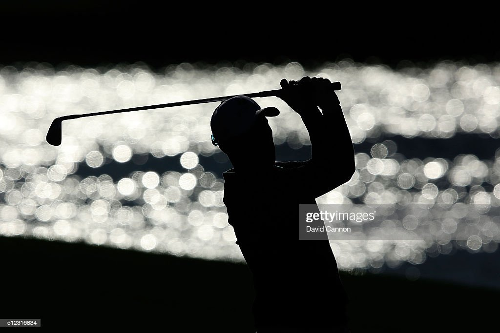Ben Crane of the United States hits his approach shot on the sixth hole during the first round of the Honda Classic at PGA National Resort & Spa - Champions Course on February 25, 2016 in Palm Beach Gardens, Florida.