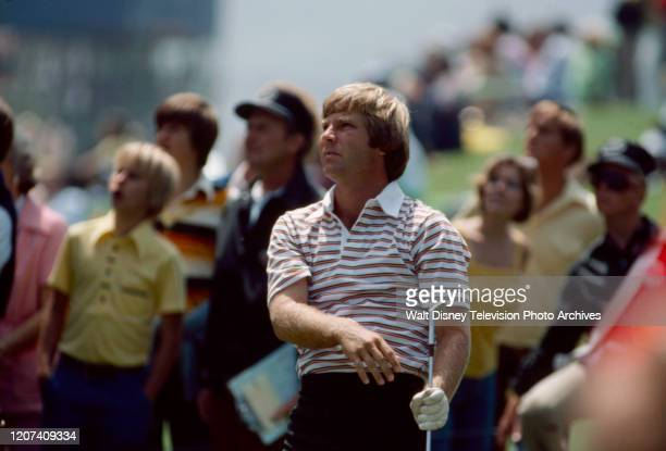 Ben Crenshaw competing in the 1977 PGA Tournament of Champions ABC Sports coverage