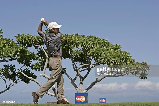 Ben Crenshaw on during the Thursday ProAm at the 2006 Mastercard Championship at Hualalai resort Kona Hawaii