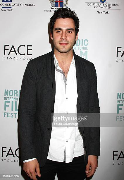 Ben Cura attends the 1st Nordic International Film Festival Gala at Scandinavia House on November 1 2015 in New York City