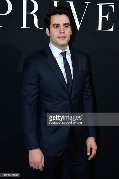 Ben Cura attends the Giorgio Armani Prive Haute Couture Spring Summer 2017 show as part of Paris Fashion Week on January 24 2017 in Paris France