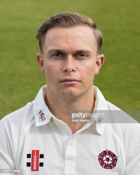 Ben Curran of Northamptonshire during the Northamptonshire County Cricket Club Photo Shoot at The County Ground on July 10 2020 in Northampton England