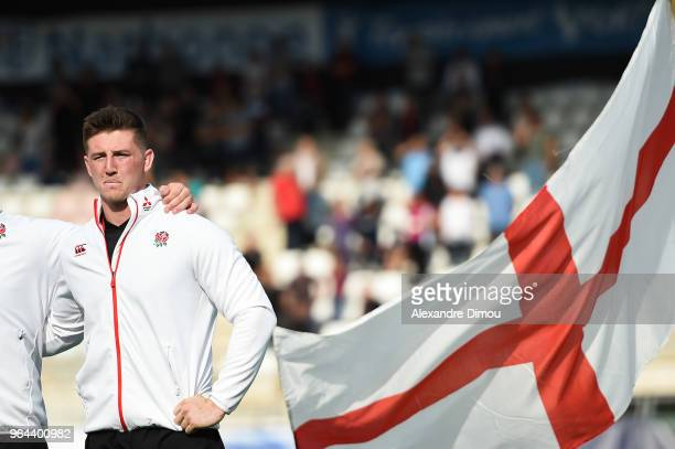 Ben Curry of England during the World Championship U 20 match between England and Argentina on May 30 2018 in Narbonne France