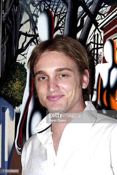 Ben Curtis during Name That Painting at Kostabi World July 7 2006 at JillMichele Melean Taylor Mead Walter Robinson Ben Curtis o in New York City New...