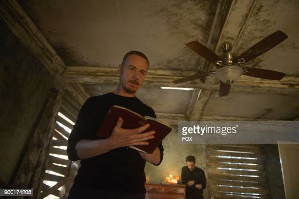 Ben Daniels and Alfonso Herrera in the 'Heaven of Hell' episode of THE EXORCIST airing Friday Dec 1 on FOX