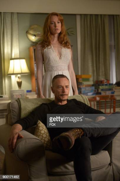 Ben Daniels and guest star Alicia Witt in the 'Darling Nikki' episode of THE EXORCIST airing Friday Nov 10 on FOX