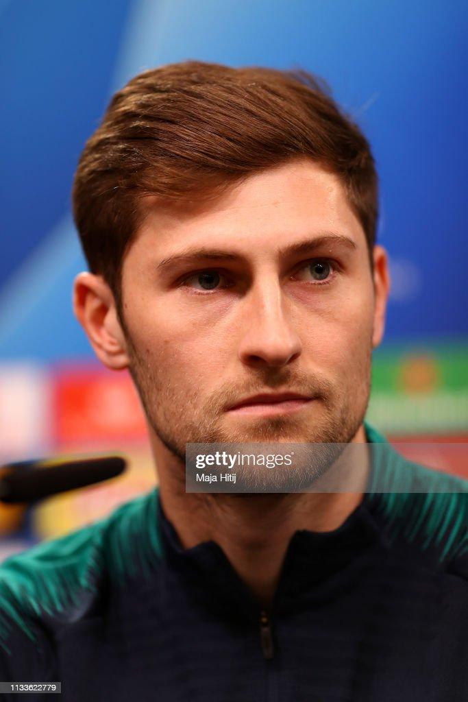 DEU: Tottenham Hotspur Training And Press Conference