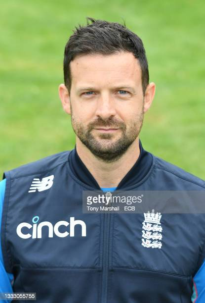 Ben Davies of England during the England Disability T20 at New Road on August 08, 2021 in Worcester, England.
