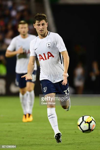 Ben Davies of Spurs during the International Champions Cup match between Paris Saint Germain and Tottenham Hotspur on July 22 2017 in Orlando United...