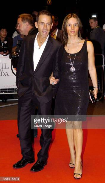 Ben de Lisi and Guest during 'The Devil Wears Prada' London Gala Screening at Odeon Leicester Square in London Great Britain