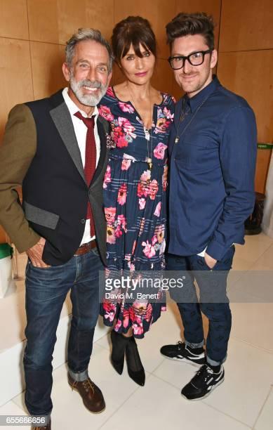 Ben de Lisi Helena Christensen and Henry Holland attend the Debenhams Summer 17 Salon Show with global supermodel Helena Christensen and Emma Willis...