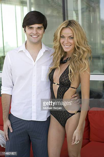 Ben Decker and actress Jasmine Dustin attend Drai's W Hotel Memorial Day Weekend Pool Party on May 30 2010 in Hollywood California