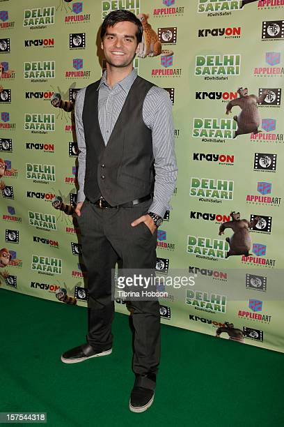 Ben Decker attends the Delhi Safari Los Angeles premiere at Pacific Theatre at The Grove on December 3 2012 in Los Angeles California