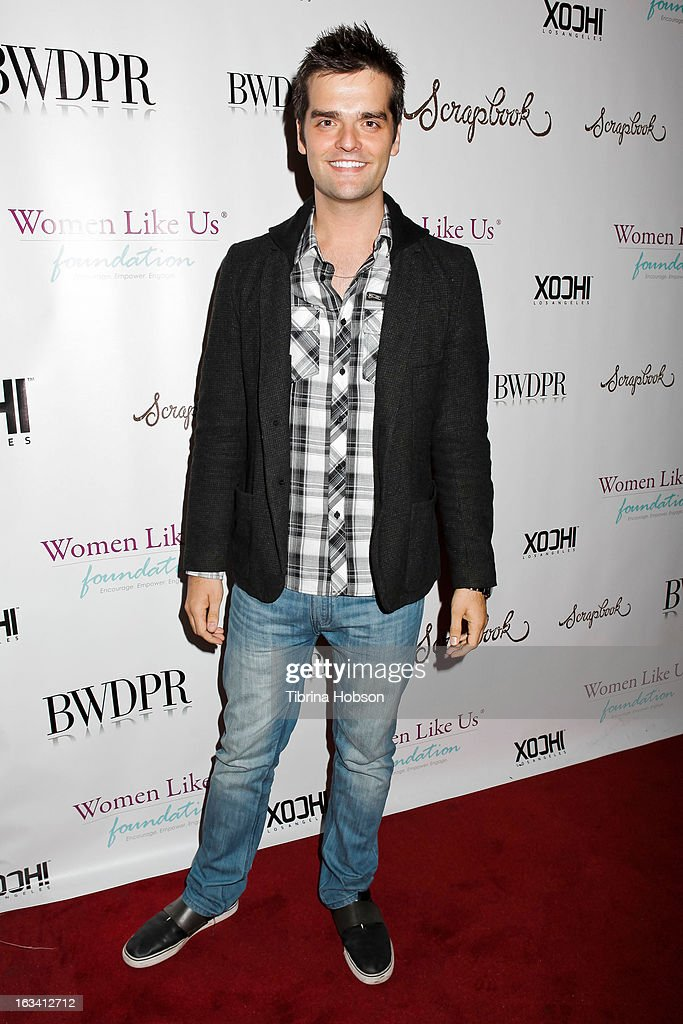 Ben Decker attends the pre-LAFW launch party in support of the Women Like Us Foundation at Lexington Social House on March 8, 2013 in Hollywood, California.