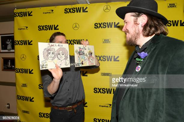 Ben Dickey and Ethan Hawke attend the 'Blaze' Prmeiere 2018 SXSW Conference and Festivals at Paramount Theatre on March 16 2018 in Austin Texas