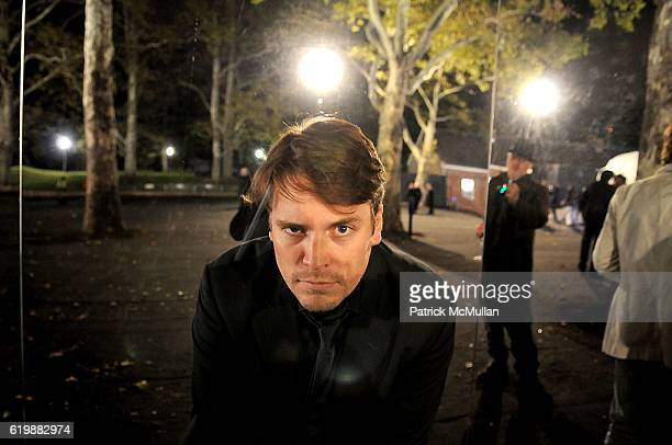 Ben Dover attends Opening Party for MOBILE ART CHANEL Contemporary Art Container inCentral Park at Rumsey Playfield on October 21 2008 in New York...