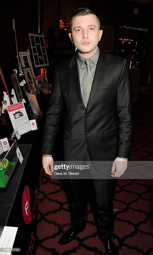 Ben Drew aka Plan B attends a champagne reception at the London Critics Circle Film Awards at the May Fair Hotel on January 20, 2013 in London, England.