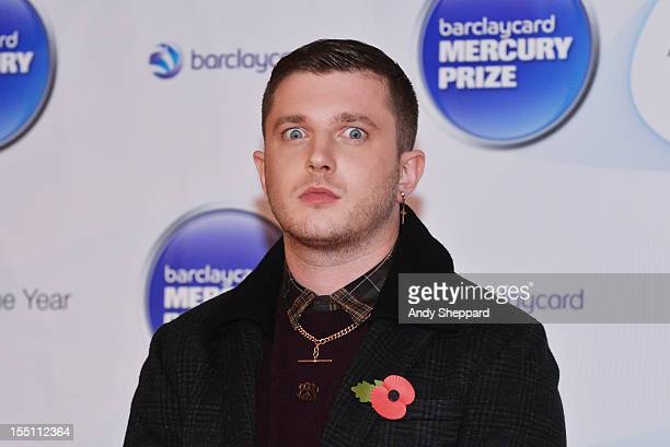 Ben Drew of the band Plan B poses at the nominee arrivals area during the Mercury Music Prize Awards Ceremony at The Roundhouse on November 1, 2012...