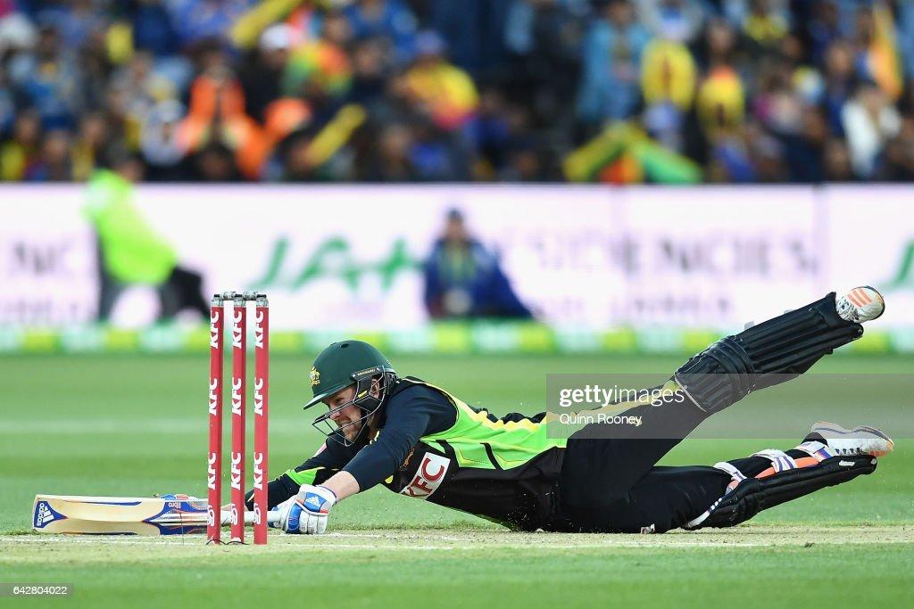 Australia v Sri Lanka - 2nd T20