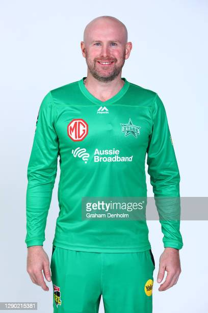 Ben Dunk of the Stars poses during the Melbourne Stars Big Bash League 2020/21 team headshots session at Junction Oval on December 09, 2020 in...