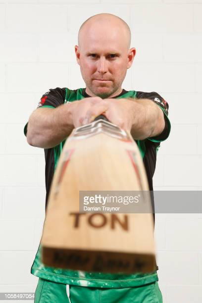 Ben Dunk poses during a Melbourne Stars BBL headshots session at the Melbourne Cricket Ground on November 7, 2018 in Melbourne, Australia.