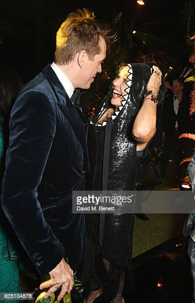 Ben Elliot and Countess Maya von Schoenburg attend The Animal Ball 2016 presented by Elephant Family at Victoria House on November 22 2016 in London...