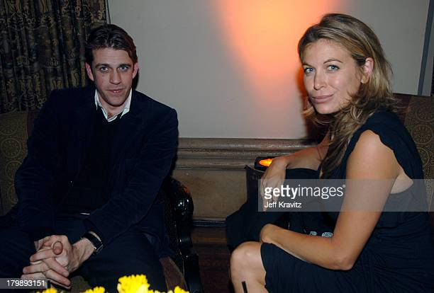 Ben Elliot and Sonya Walger during HBO's Annual PreGolden Globes Private Reception at Chateau Marmont in Los Angeles California United States